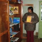 2009: Allestimento biblioteca del centro di salute di livitaca