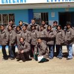 2009: Donazione giacche al personale del centro di salute di livitaca