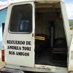 2010: Rimessa a nuovo dell'ambulanza del Centro di Salute di Livitaca