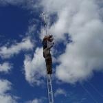 2010: Allestimento ponte radio nelle comunita' di Livitaca