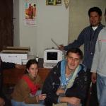 2010-donazione  dell' ecografo portatile al centro di salute sponsorizzato dal club Lions Host di Lucca