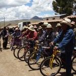 2011: Donazione bici ai promotori, sponsorizzato dal club Lions Host di Lucca